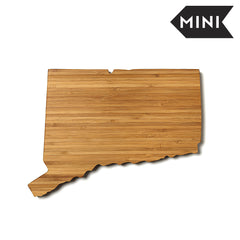 Connecticut Shaped Miniature Cutting Board