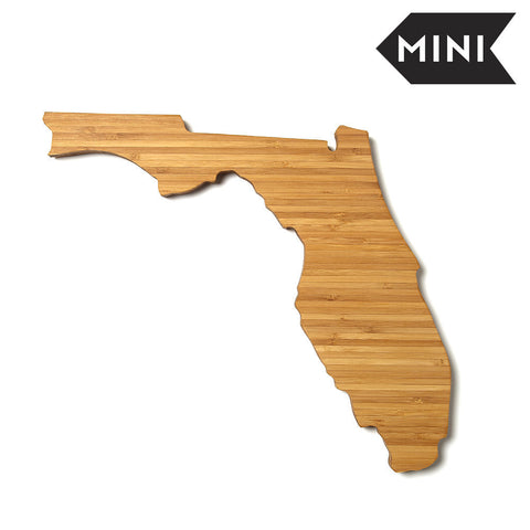 Florida Shaped Miniature Cutting Board by AHeirloom