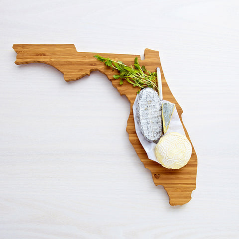 AHeirloom Florida State Shaped Cutting Board Cheese.jpeg