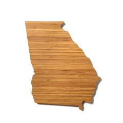 Georgia Shaped Cutting Board