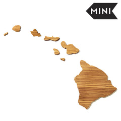 Hawaii Shaped Miniature Cutting Board