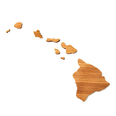 Hawaii Shaped Cutting Board by AHeirloom