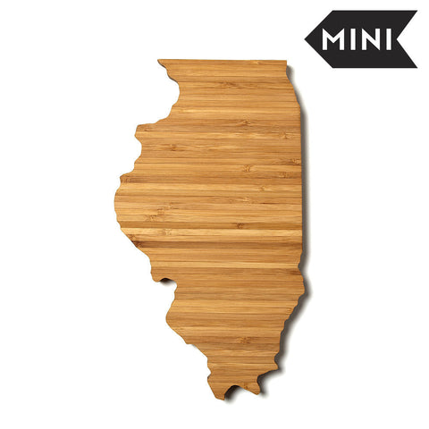 Illinois Shaped Miniature Cutting Board by AHeirloom