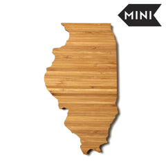 Illinois Shaped Miniature Cutting Board