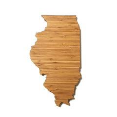 Illinois Shaped Cutting Board
