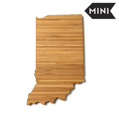 Indiana Shaped Miniature Cutting Board