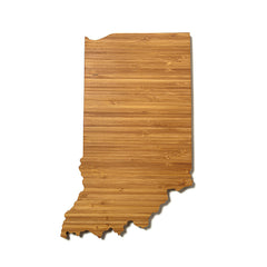 Indiana Shaped Cutting Board