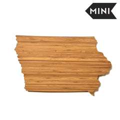 Iowa Shaped Miniature Cutting Board