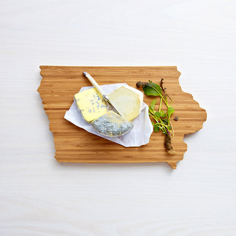 AHeirloom Iowa State Shaped Cutting Board Cheese.jpeg