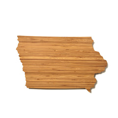 Iowa Shaped Cutting Board