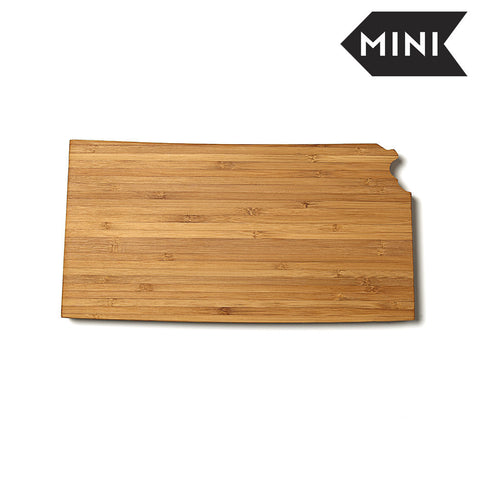 Kansas Shaped Miniature Cutting Board by AHeirloom