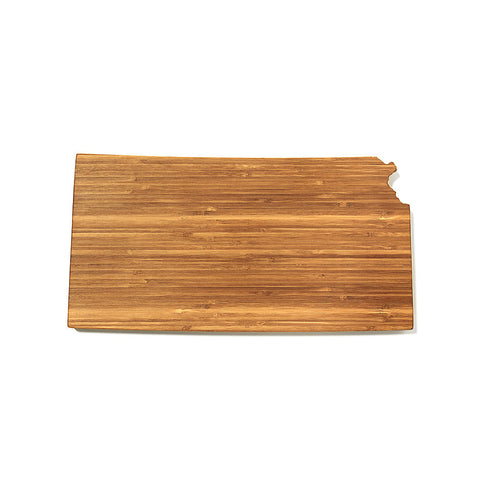 Kansas Shaped Cutting Board by AHeirloom