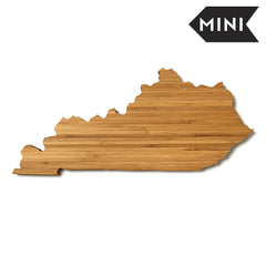 Kentucky Shaped Miniature Cutting Board