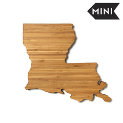 Louisiana Shaped Miniature Cutting Board