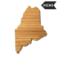 Maine Shaped Miniature Cutting Board