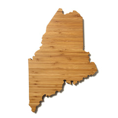 Maine Shaped Cutting Board