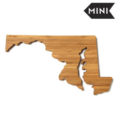 Maryland Shaped Miniature Cutting Board