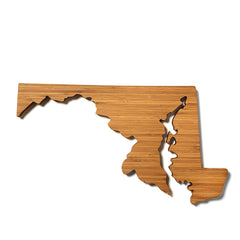 Maryland Shaped Cutting Board