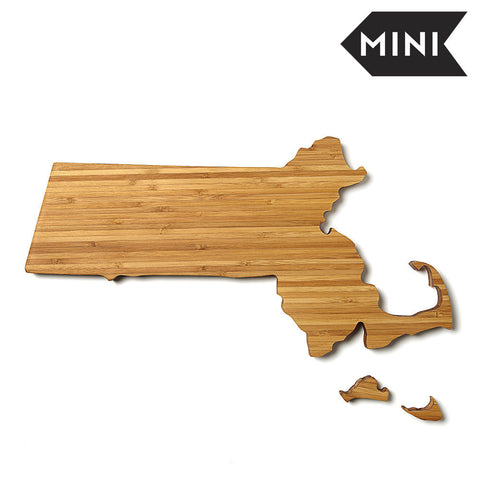 Massachusetts Shaped Miniature Cutting Board by AHeirloom