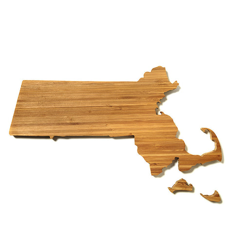 Massachusetts Shaped Cutting Board by AHeirloom