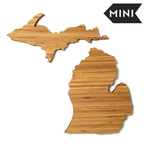 Michigan Shaped Miniature Cutting Board by AHeirloom