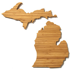 Michigan Shaped Cutting Board