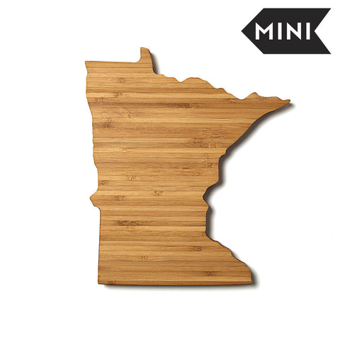 Minnesota Shaped Miniature Cutting Board by AHeirloom
