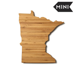 Minnesota Shaped Miniature Cutting Board