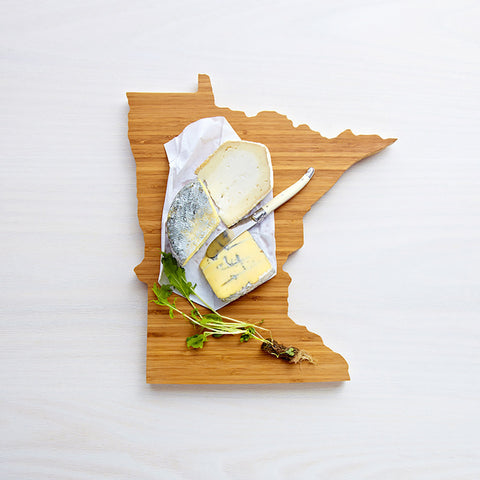 AHeirloom Minnesota State Shaped Cutting Board Cheese.jpeg