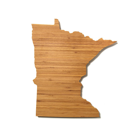 Minnesota Shaped Cutting Board by AHeirloom