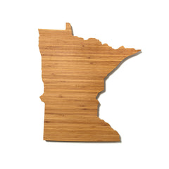 Minnesota Shaped Cutting Board