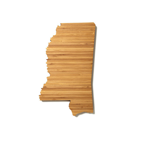 Mississippi Shaped Cutting Board by AHeirloom
