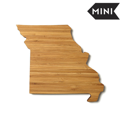 Missouri Shaped Miniature Cutting Board by AHeirloom