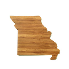 Missouri Shaped Cutting Board