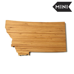Montana Shaped Miniature Cutting Board