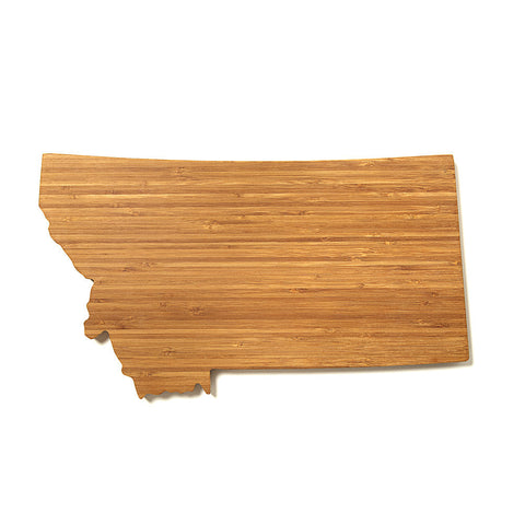Montana Shaped Cutting Board by AHeirloom