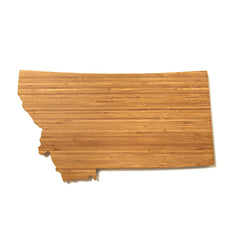 Montana Shaped Cutting Board
