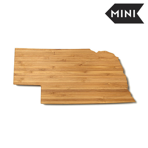Nebraska Shaped Miniature Cutting Board by AHeirloom