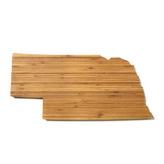 Nebraska Shaped Cutting Board