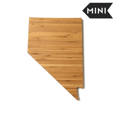 Nevada Shaped Miniature Cutting Board by AHeirloom