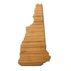 New Hampshire Shaped Cutting Board