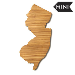 New Jersey Shaped Miniature Cutting Board