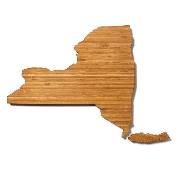 new york state shaped cutting board aheirloom. Black Bedroom Furniture Sets. Home Design Ideas