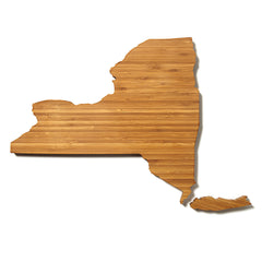 New York Shaped Cutting Board