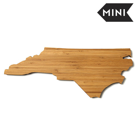 North Carolina Shaped Miniature Cutting Board by AHeirloom