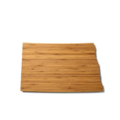 North Dakota Shaped Cutting Board