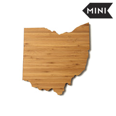 Ohio Shaped Miniature Cutting Board