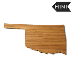 Oklahoma Shaped Miniature Cutting Board
