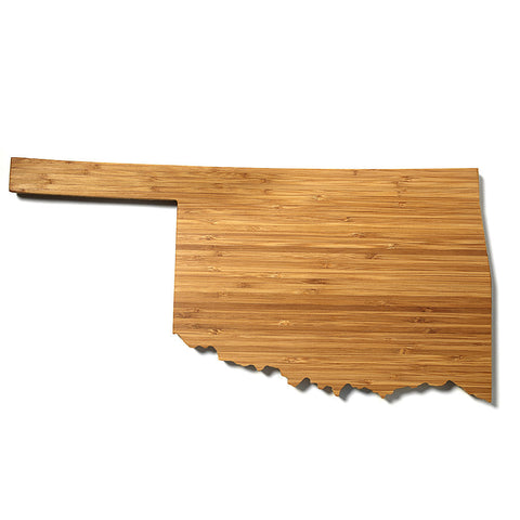 Oklahoma Shaped Cutting Board by AHeirloom