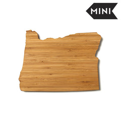 Oregon Shaped Miniature Cutting Board